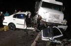 Dois acidentes na BR-285 deixam três mortos na noite de quarta-feira Polícia Rodoviária Federal / Divulgação/Divulgação