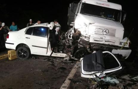 Dois acidentes na BR-285 deixam três mortos na noite de quarta-feira (Polícia Rodoviária Federal / Divulgação/Divulgação)
