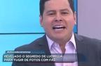 """Apresentador pede desculpas a Ludmilla e diz que """"pobre macaca"""" não é racismo Reprodução/TV Record"""