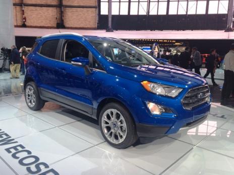 Ford mostra em Detroit o Novo EcoSport (GILBERTO LEAL/)