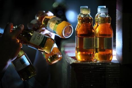 Sobrou suco de uva nas cantinas (Felipe Nyland/Agencia RBS)