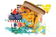 A função do pente no discurso de Trump Gilmar Fraga / Arte ZH/Arte ZH