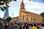 Centenas levam imagem de Navegantes para a igreja do Rosário, em Porto Alegre Camila Domingues/Especial