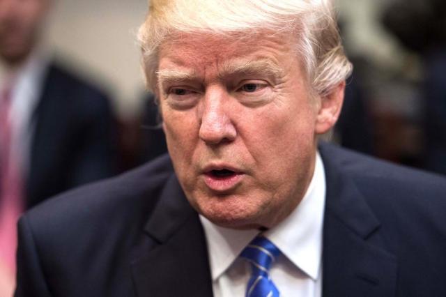 Trump promete novo decreto migratório para semana que vem NICHOLAS KAMM/AFP