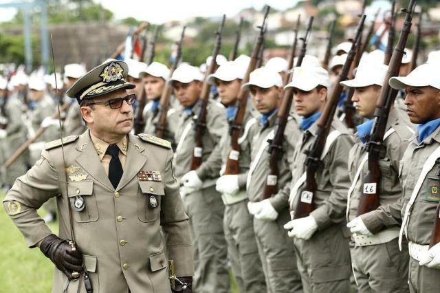 """""""Precisamos convencer o governo federal a nos dar mais apoio"""", diz novo comandante-geral da BM Carlos Macedo/Agencia RBS"""