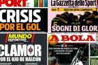 Desafios da Inter e anulação polêmica na Espanha: os destaques dos jornais esportivos desta terça /