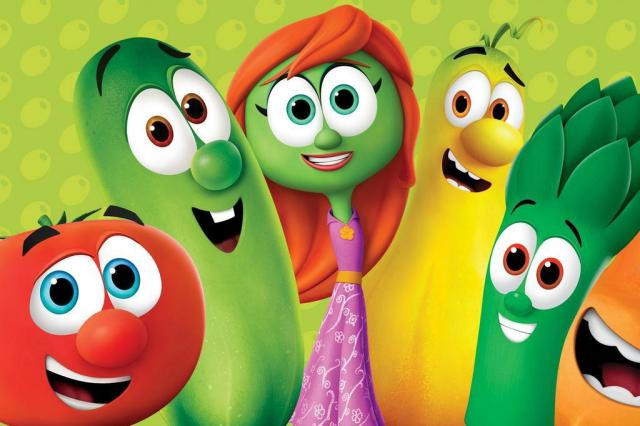 Image result for veggietales in the city