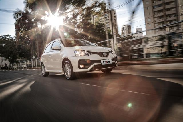 Toyota Etios 2018, aperfeiçoamentos para continuar crescendo Toyota, DV/