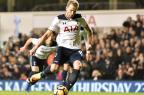 Kane decide novamente, Tottenham vence e se isola em segundo no Inglês OLLY GREENWOOD/AFP