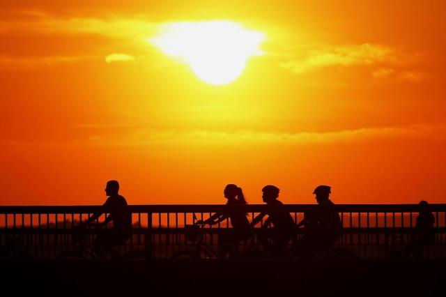 Porto Alegre registra maior temperatura do ano neste sábado e calor deve permanecer no domingo Mateus Bruxel/Agencia RBS