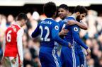 Líder do Campeonato Inglês, Chelsea goleia o Arsenal Adrian Dennis / AFP/AFP