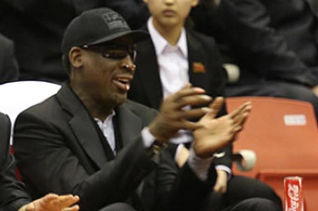 Dennis Rodman se declara culpado por dirigir na contramão e causar acidente Jason Mojica/AFP PHOTO / VICE Media