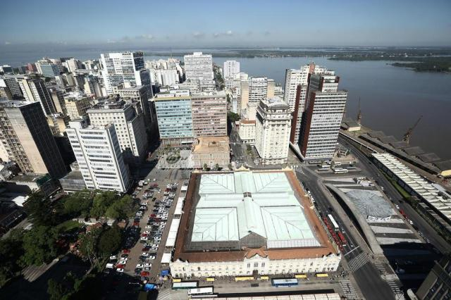 Marchezan vai propor concessão do Mercado Público à iniciativa privada Carlos Macedo/Agencia RBS