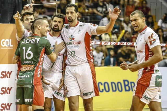 Campinas recebe o Minas Tênis Clube pela quinta rodada do returno da Superliga Wander Roberto/Inovafoto/CBV/Divulgação