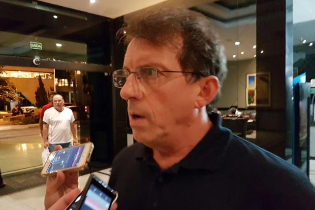 """Vice do Grêmio justifica ausência de Renato: """"Presença no campo não dá melhores condições de ver o jogo do que pela televisão"""" Rodrigo Oliveira / Agência RBS/Agência RBS"""