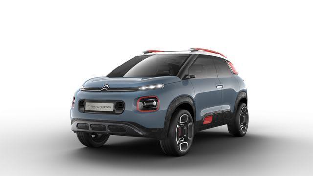 C-AirCross Concept, visão da Citroën para um crossover compacto Citroën, DV/