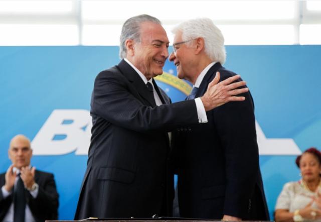 Celso de Mello mantém Moreira Franco ministro da Secretaria-Geral Beto Barata/PR/