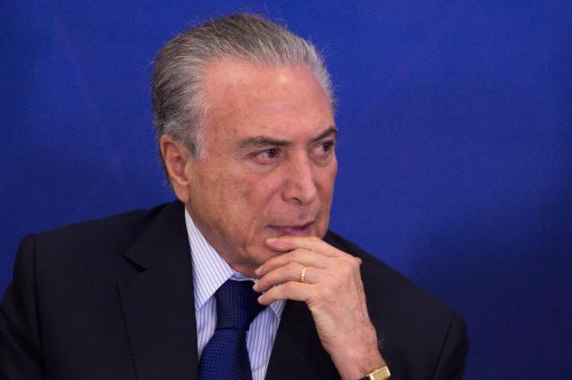 """Temer: """"Não digo nada sobre Cunha e desejo a maior felicidade para ele"""" Marcelo Camargo/Agência Brasil"""