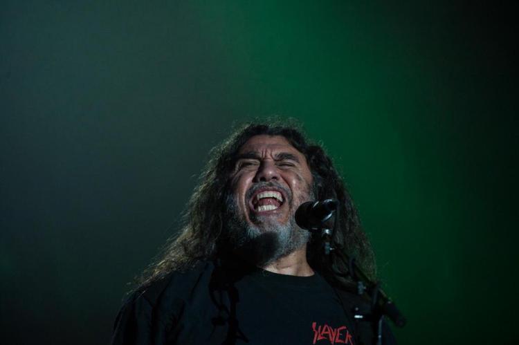 Slayer anuncia shows em Porto Alegre e São Paulo em maio YASUYOSHI CHIBA/AFP