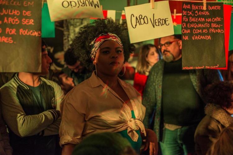 """Espetáculo """"AfroMe"""" volta a cartaz em minitemporada de verão no Boteco do Paulista André Olmos/Divulgação"""