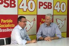 Beto Albuquerque e José Fortunati confirmam candidatura em 2018 PSB / Divulgação /