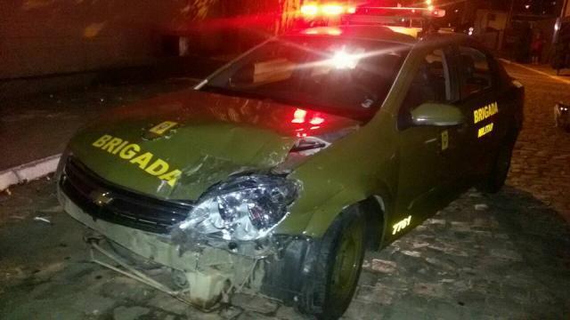 Perseguição policial termina com um suspeito preso e outro baleadoem Caxias do Sul Brigada Militar / Divulgação/Divulgação