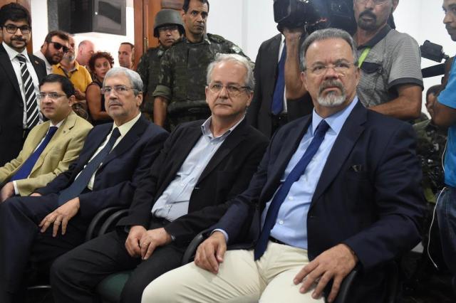 Ministro garante tropas federais em Vitória até final da greve da PM Fred Loureuri/Secom-ES