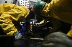 Operação na ponte Hercílio Luz é concluída em Florianópolis florianópolis,ponte,hercílio luz,obra,governador/Agencia RBS