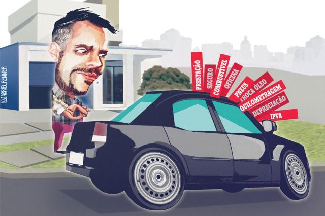 Quando vale a pena manter um carro? Gabriel Renner / Arte ZH/Arte ZH