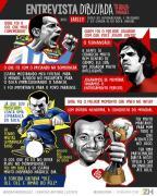 """Iarley: """"irmão do Pelé"""" e a relação com Fernandão no Inter Gonza Rodríguez / Arte ZH/Arte ZH"""