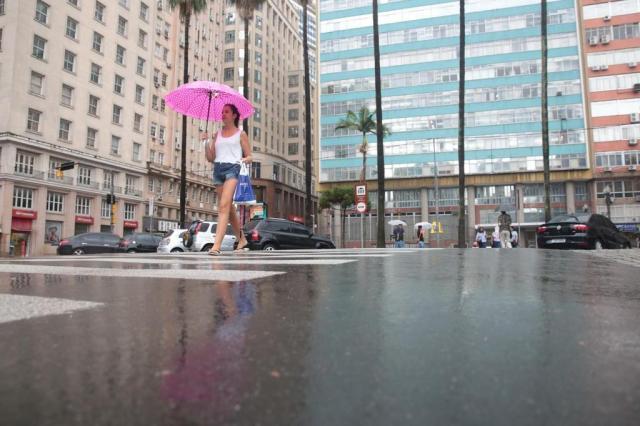 Chuva deve seguir na Região Metropolitana nesta terça-feira André Ávila/Agencia RBS