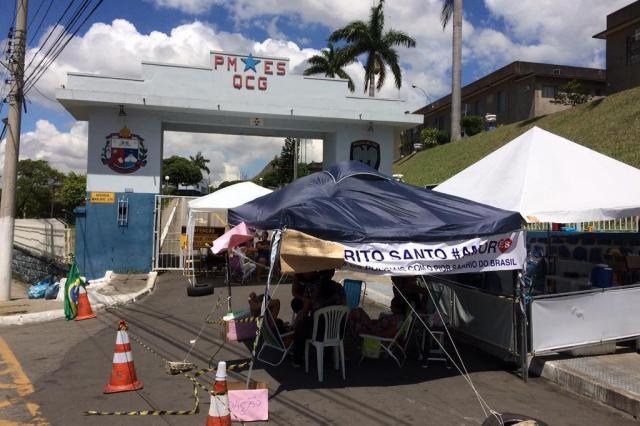 Governo do Espírito Santo recusa novo acordo e motim da PM vai ao 11° dia Guilherme Mazui/Agência RBS