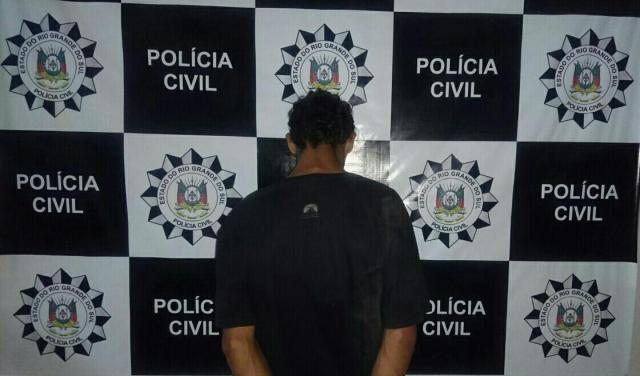 Preso suspeito de matar haitiano após tentativa de roubo em Gravataí Polícia Civil / Divulgação/Divulgação