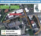Veja as mudanças no trânsito da Nilo Peçanha com a inauguração da Unisinos Arte ZH/Agência RBS