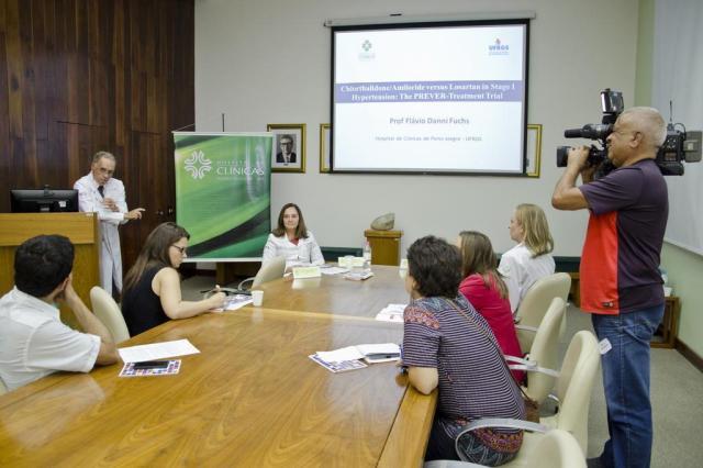 Estudo coordenado pelo Hospital de Clínicas de Porto Alegre sugere nova forma de tratar a hipertensão Clóvis S. Prates/Divulgação