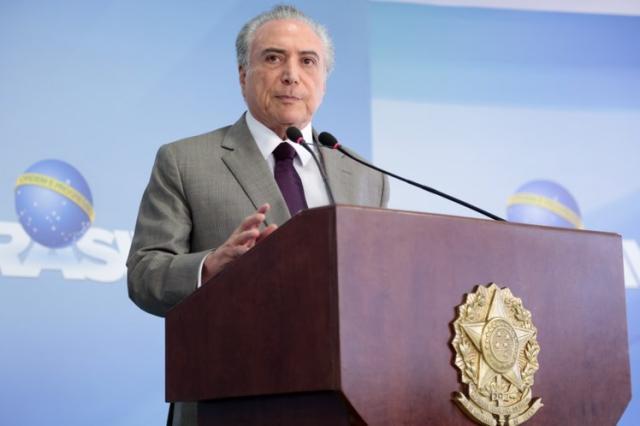 Escolha de ministro da Justiça não terá conotação partidária, diz Temer Marcos Corrêa/PR/