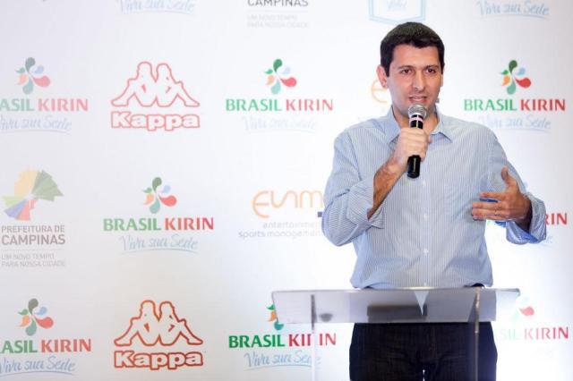 Fernando Maroni é o novo supervisor da seleção brasileira masculina Vôlei Brasil Kirin/Divulgação
