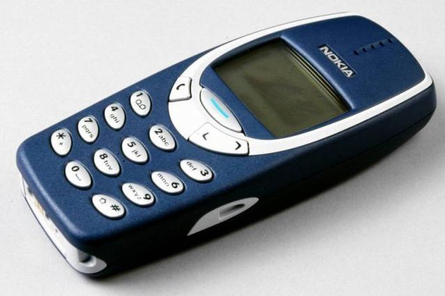 Celular Nokia 3310, o famoso tijolão, deve ser relançado por R$ 190 Divulgação/