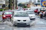 Chuvas provocam pontos de alagamentos no Litoral Norte