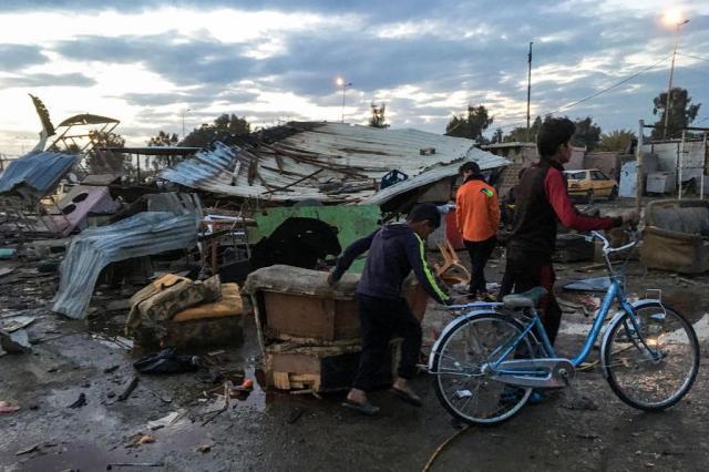 Estado Islâmico reivindica atentado que deixou 45 mortos em Bagdá AHMAD MOUSA/AFP