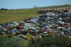 Detran terá de vistoriar 250 carros em depósito em Viamão antes de enviar carcaças à trituração Luiz Armando Vaz/Agencia RBS