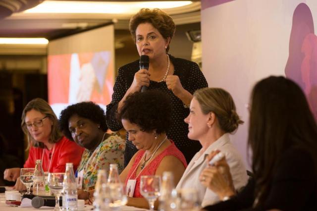 """""""O golpe ainda não acabou"""", diz Dilma em evento com petistas Lula Marques/Agência PT/Divulgação"""