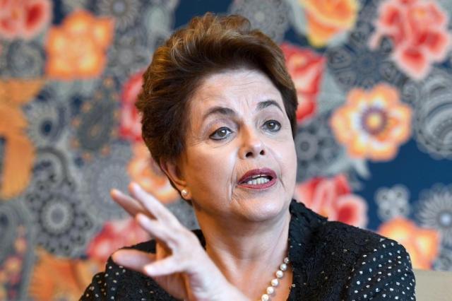 """""""Não temos nada a temer"""", diz defesa de Dilma sobre delações da Odebrecht Evaristo Sá / AFP/AFP"""