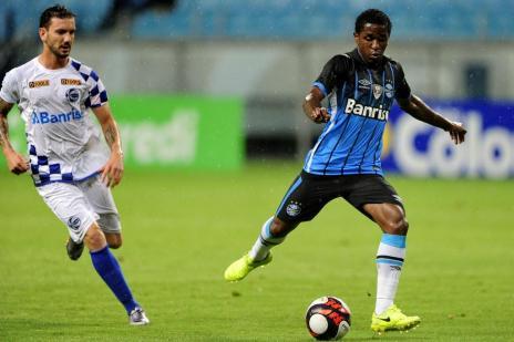 Grêmio leva empate do São José no fim e fica no 1 a 1 na Arena (Bruno Alencastro/Agencia RBS)