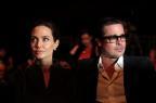 """Angelina Jolie fala pela primeira vez sobre divórcio com Brad Pitt: """"Sempre seremos uma família"""" Carl COURT/AFP"""