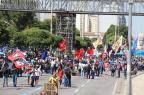 Estudantes são detidos em protesto contra a privatização da companhia de saneamento do Rio LUIZ SOUZA/FOTOARENA/FOTOARENA/ESTADÃO CONTEÚDO
