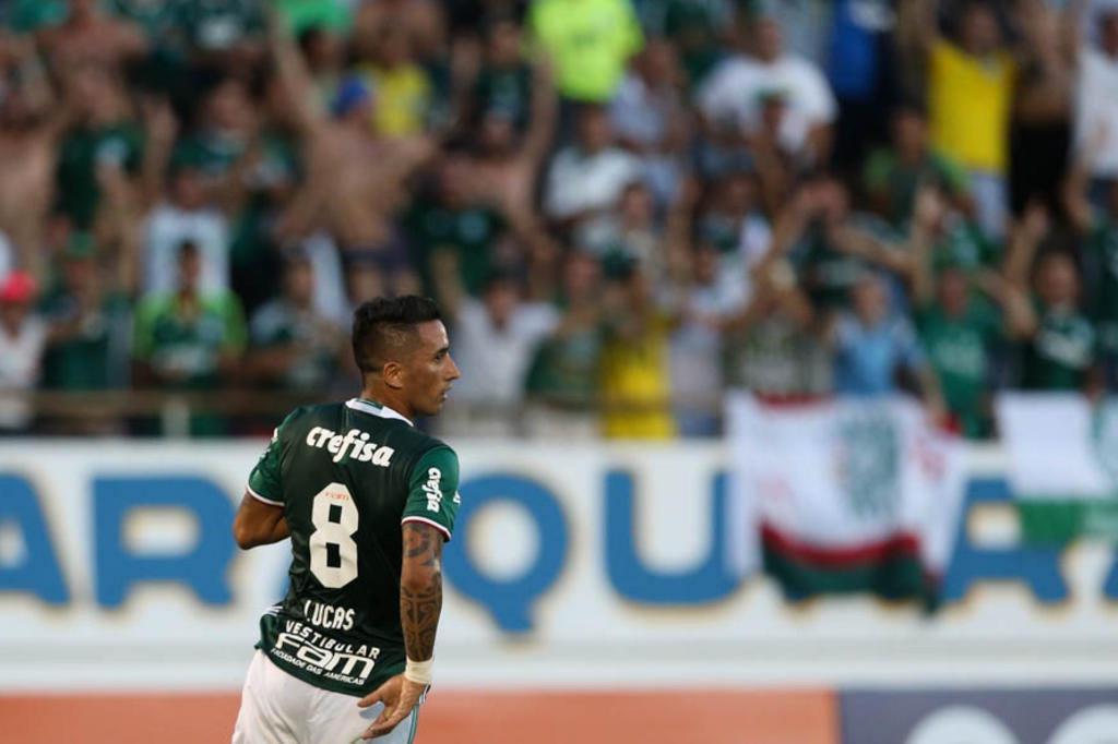 Chegada de Barrios mudará função de Luan no ataque do Grêmio Divulgação/Palmeiras