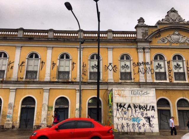 Cresce o número de pessoas detidas por pichar em Porto Alegre Felipe Daroit/Rádio Gaúcha