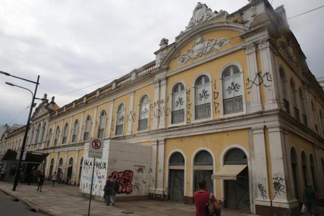 """""""O problema é depois que eles são presos"""", diz subcomandante da Guarda Municipal sobre pichadores Tadeu Vilani/Agencia RBS"""
