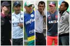 Como estão os novos professores do futebol brasileiro Montagem sobre fotos / BD/BD